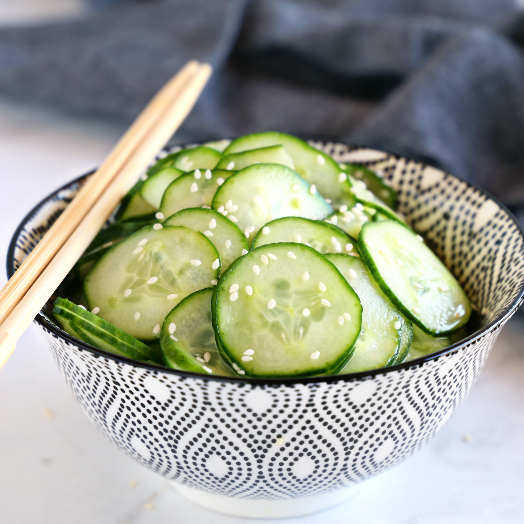 Easy Asian Cucumber Salad
