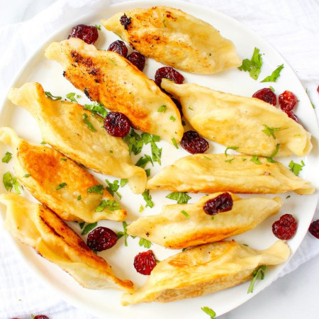 Thanksgiving Leftovers Pierogies